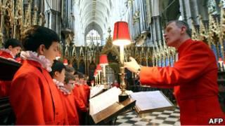 Хор Вестминстерского аббатства, который будет петь на свадьбе