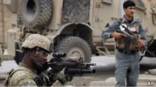 Сили коаліції в Афганістані
