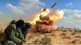 جنگ لیبی