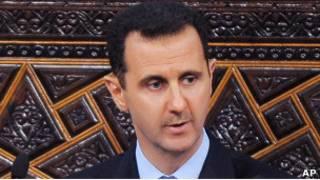 Президент Сирии Башар Асад (30 марта)