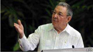 رائول کاسترو رییس جمهور کوبا