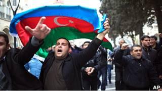 تظاهرات در آذربایجان