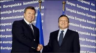 Президент України Віктор Янукович та президент Єврокомісії Жозе Баррозу