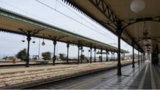 Железнодорожная станция в Италии