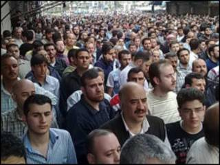 Masu zanga-zanga a Homs