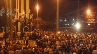 Humus kentinin merkezindeki göstericiler