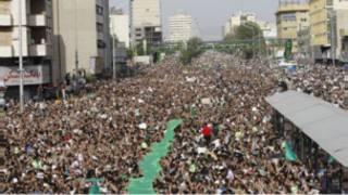 تجمع اعتراضی به نتایج انتخابات
