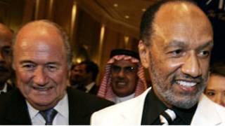 محمد بن همام وخلفه سيب بلاتر