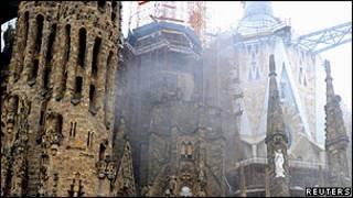 Храма Святого семейства (Sagrada Familia basilica)