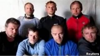 Семеро эстонских туристов, захваченных в Ливане