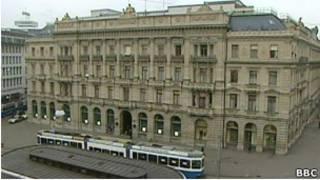 Здание Credit Suisse в Цюрихе