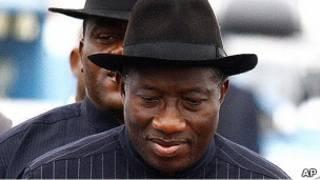 Shugaban kasar Najeriya, Goodluck Jonathan