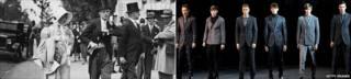 Мужчины в формальных костюмах и пиджачных парах