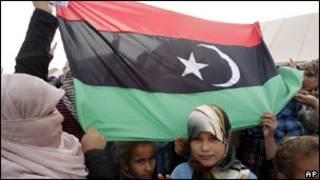 Ливийские беженцы