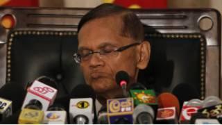وزير خارجية سريلانكا جميني لكشمان بيريس