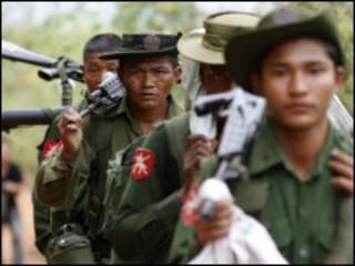 ရှမ်းပြည်ရောက်မြန်မာအစိုးရတပ်များ