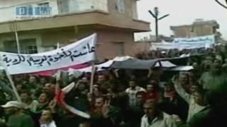 敘利亞民眾抗議