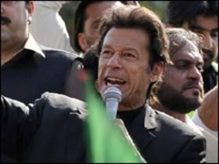 تحریکِ انصاف کے سربراہ عمران خان