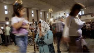 مسيحيون عراقيون