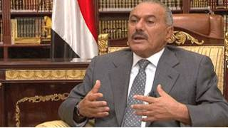 Ali Abdulá Saleh, presidente de Yemen