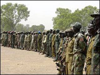 Wanjeshi wa SPLA