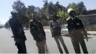 Силы безопасности в Дамаске