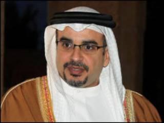 د بحرین ولیعهد شهزاده سلمان بن حمد آل خلیفة