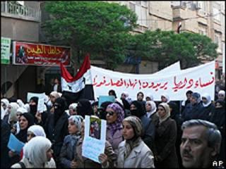डेरा (सीरिया) में प्रदर्शन