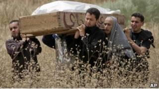 Похороны погибшего в Мисрате