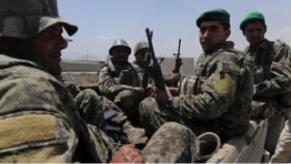 قوات افغانية