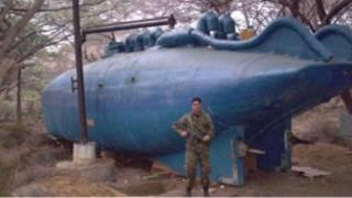 Кустарная субмарина в Коломбии