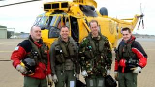 威廉王子曾駕駛海王直升機