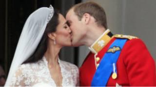 Pangeran William dan Kate Middleton mengucap sumpah sekitar jam