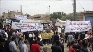 ناآرامی ها در سوریه