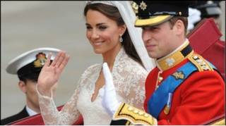 Кейт та Вільям у день весілля