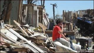 Разрушения в Алабаме