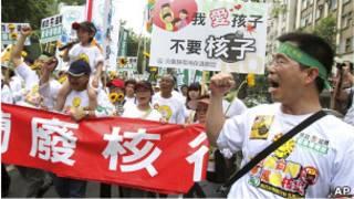 台北反核遊行