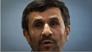 Shugaba Ahmadinajad na Kasar Iran