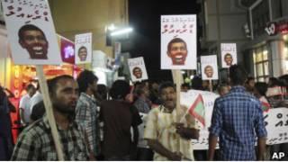Мальдивы: акции протеста против президента Нашида