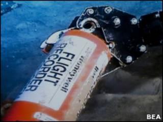 Módulo de memória do voo AF 477.