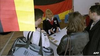 کارفرمای آلمانی در لهستان