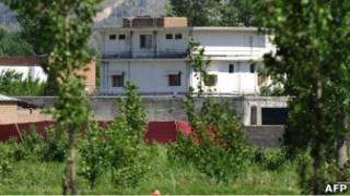 مجتمع مسکونی که بن لادن در آن زندگی می کرد