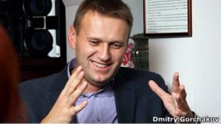 Алексей Навальный в Екатеринбурге. Фотография участника сообщества live_report в Живом Журнале Дмитрия Горчакова