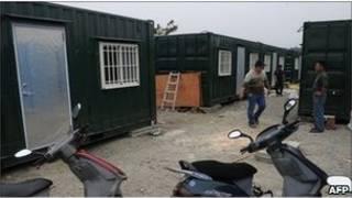 Тайвань - контейнеры для жилья