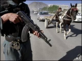 अफ़ग़ान सैनिक