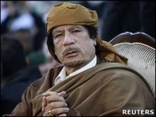 Muammar Khadafi (Reuters)