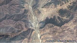 تصاویر ماهواره ای از اردوگاه های زندانیان سیاسی کره شمالی