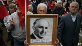 Митинг левых в Болгарии