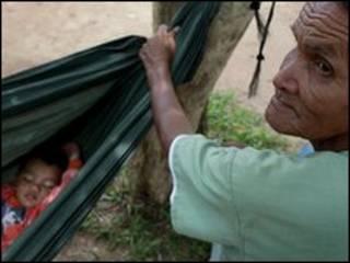 Người tị nạn Thái ở tỉnh Surin, đông bắc Thái Lan
