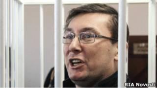 Юрий Луенко во время суда о продлении его содержания под стражей